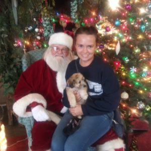 Santa with Customer